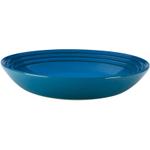 Le Creuset Marseille Blue Stoneware 10 Inch Pasta Bowl