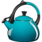 Le Creuset Caribbean Enameled Steel 1.9 Quart Oolong Tea Kettle