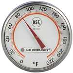 Le Creuset Stainless Steel Analog Instant Read Thermometer