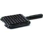 Nordic Ware Original Stovetop Black Cast Aluminum Belgian Waffler