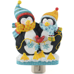 Boston Warehouse Frosty Friends Penguin Night Light