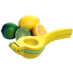 Amco Yellow and Green Two-in-One Citrus Juicer