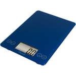 Escali Arti Electric Blue Glass Digital Kitchen Scale, 15 Pound