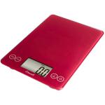 Escali Arti Retro Red Glass Digital Kitchen Scale, 15 Pound