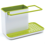 Joseph Joseph Green and White Tidy Sink Caddy