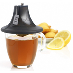 Mastrad Charcoal Silicone Tea Cosy