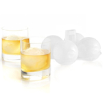 Mastrad White Silicone Ice Ball Molds and Stand