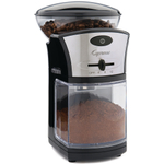 Capresso Black Coffee Burr Grinder