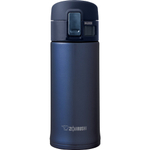 Zojirushi Smoky Blue Stainless Steel Vacuum Insulated Flip Top Mug, 12 Ounce