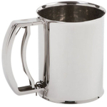 Norpro Deluxe Stainless Steel Flour Sifter, 3 Cup