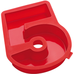 Lekue Number 5 Red Silicone Cake Mould