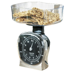 Salter Chrome Kitchen Scale with Large Dial
