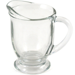 Anchor Hocking Presence Glass 4 Ounce Mini Creamer or Syrup Pitcher