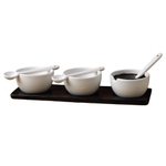 New East 7 Piece Sauce Serving Set