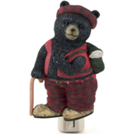 Blonder Resin Black Bear Santa Night Light