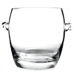 Luigi Bormioli Michelangelo Masterpiece Glass Ice Bucket with Handles