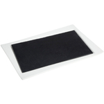 Luigi Bormioli Slate and Porcelain 2-Piece Serving Tray Set