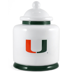 University of Miami Hurricanes Ceramic Cookie Jar