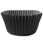 Cupcake Creations Black Mini Baking Cup, Set of 60