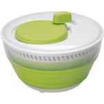 Progressive International Green and White Collapsible Salad Spinner, 3 Quart