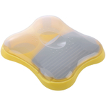 Progressive International Yellow Microwaveable Breakfast Sandwich Maker
