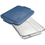 Anchor Hocking Bake 'N Take Glass Dish With Snap On Cover, 9 x 13 Inch