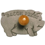 Norpro Cast Iron Pig Bacon Crisper Press
