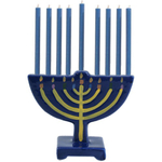 Ceramic Hanukkah Menorah