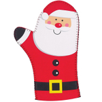 Boston Warehouse Holly Jolly Santa Oven Mitt