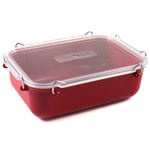 Click Clack Red Locking Everyday Storage Container, 1.4 Quart