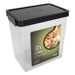 Click Clack Airtight Storer Container with Grey Lid, 4.5 Quart