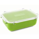 Click Clack Green Locking Everyday Storage Container, 1.4 Quart