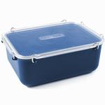 Click Clack Blue Locking Everyday Storage Container, 2.8 Quart