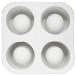 Sagaform Bar White Silicone Shot Glass Mold Ice Tray