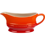 Le Creuset Flame Stoneware 12 Ounce Gravy Boat