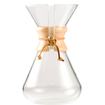 Chemex Hand Blown Glass Coffee Maker with Wood Collar and Tie, 65 Ounce