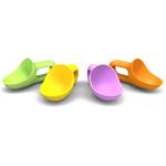 Prepara Super Scooper Assorted Colors Kids Ice Cream Scoop, Set of 4