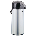Zojirushi Air Pot Polished Stainless Steel Beverage Dispenser, 74 Ounce