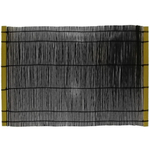 Typhoon Black Bamboo Placemat