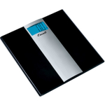 Escali Ultra Slim Black Glass Digital Bathroom Scale