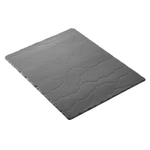 Revol Basalt Collection Slate 15.75 x 9.75 Inch Rectangular Serving Tray
