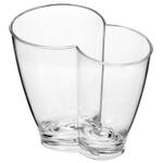 Prodyne Acrylic Vino Duo Wine Bucket, 12 Inch