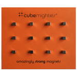 Three by Three Cube Mighties Magnet, Set of 12