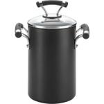 Circulon Contempo Hard Anodized Nonstick Covered Asparagus Pot with Steamer, 3.5 Quart