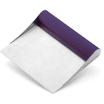 Rachael Ray Tools and Gadgets Purple Stainless Steel Bench Scrape