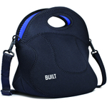 Built NY Black and Cobalt Blue Spicy Relish Lunch Tote