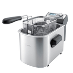 Breville Stainless Steel with Black Accents Smart Fryer
