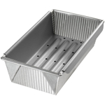 USA Pan Aluminized Steel Meat Loaf Pan with Insert, 10 Inch