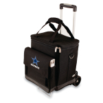 Picnic Time NFL Dallas Cowboys Insulated 6 Bottle Cellar Wine Tote with Trolley