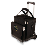Picnic Time NFL Jacksonville Jaguars Insulated 6 Bottle Cellar Wine Tote with Trolley